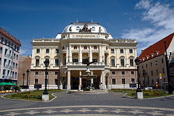Slovak National Theatre in Bratislava - Old building.jpg