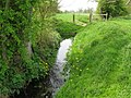 Small stream beside the Stour Valley Walk - geograph.org.uk - 1273973.jpg