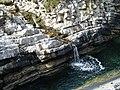 Small waterfall at Portacloy, Co Mayo - geograph.org.uk - 1006976.jpg