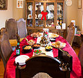 Snacks at a Christmas party, Chatham, Ontario, 2014-12-13.jpg