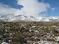 Snow Franklin Mountains El Paso Texas Dec 01 2009 IMG 1859.JPG