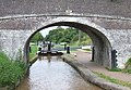 Snows Bridge and Lock No 7, Shropshire Union Canal, Audlem, Cheshire - geograph.org.uk - 579927.jpg