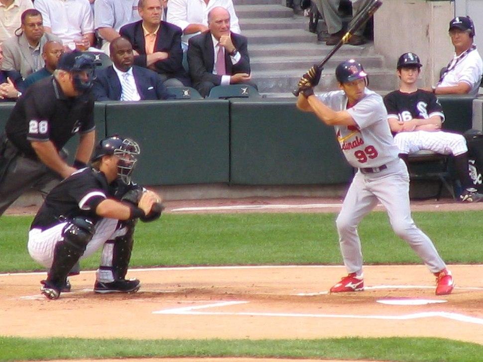 So Taguchi for the Cardinals batting