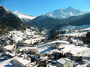 Sölden - Sölden in mid-February 2005