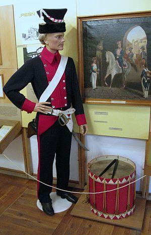 Polish Legions (Napoleonic period) - Polish Legions soldier in Italy