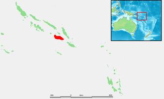 Guadalcanal - Image: Solomon Islands Guadalcanal