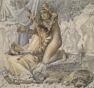 Simeon Solomon - Image: Solomon Simeon Babylon hath been a golden cup