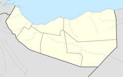 Burao is located in Somaliland