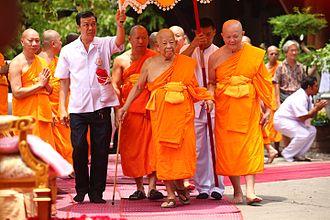 Dhammakaya Movement - Image: Somdet Chuang Varapunno