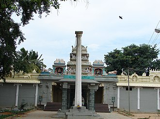 Mulbagal - Someshvara temple, Mulabagilu