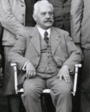 Arnold Sommerfeld - Arnold Sommerfeld, Stuttgart 1935
