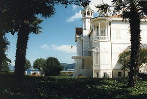Tarabya - Tarabya, historical summer residence of the German ambassador to the Ottoman Empire