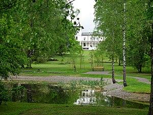 Parken ved Søndre Skøyen gård, Skøyen, Oslo