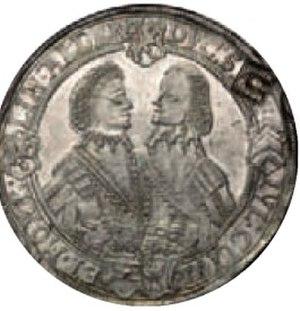 Sophie Elisabeth of Brandenburg - Image: Sophie Elisabeth of Brandenburg and Frederick William II, Duke of Saxe Altenburg