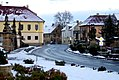 Soubor 5 soch při silnici proti zámku, Liběšice, okres Litoměřice, Ústecký kraj 01.jpg