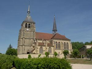 Soulaines-Dhuys - Image: Soulaines D'huys église