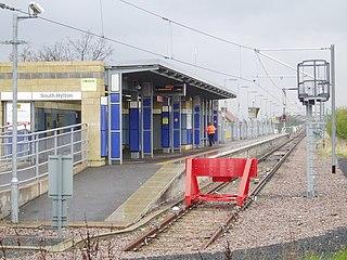 South Hylton Metro station Station of the Tyne and Wear Metro