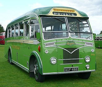 Southdown Motor Services - A now preserved Leyland Tiger, previously run by Southdown as fleet number 649.