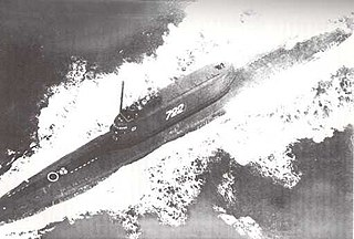 Soviet submarine <i>K-129</i> (1960) Golf II-class ballistic missile submarine