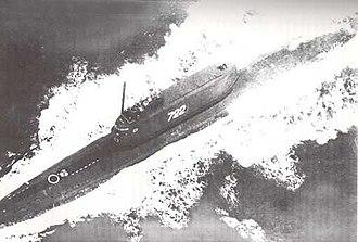 Soviet submarine K-129 (1960) - Image: Soviet ballistic missile submarine K 129