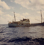 Soviet intelligence gathering trawler Gidrofon, a photo from aboard USS Lipan (2).jpg