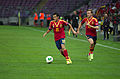 Spain - Chile - 10-09-2013 - Geneva - Pedro Rodriguez and Ignacio Monreal.jpg
