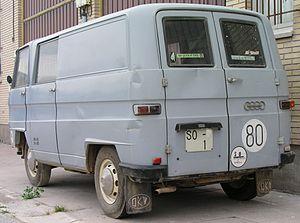 DKW Schnellaster - Spanish built DKW F 1000 L van