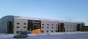 Sparbanken Lidköping Arena - Image: Sparbanken Lidköping Arena South west