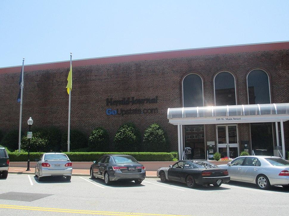 Spartanburg Herald-Journal office IMG 4840