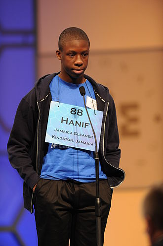 Scripps National Spelling Bee - A Jamaican contestant from 2011