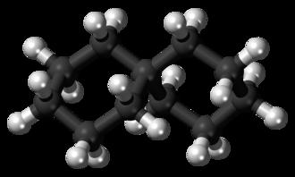 Bicyclic molecule - Image: Spiro(5.5)undecane 3D balls