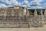 Spur building terrace of the Castle of Beynac 03.jpg