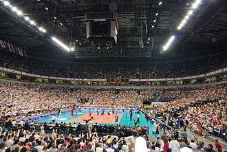 Štark Arena - Serbia - Brazil FIVB World League 2009 final, 22,680 spectators