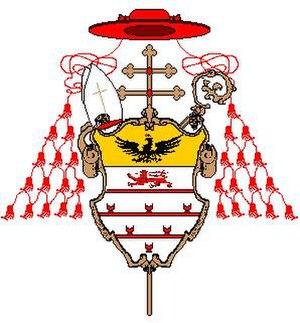 Benedetto Erba Odescalchi - Image: St.B.Odesc.card