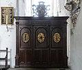 St. Aegidien (Lübeck) Beichtstuhl.JPG