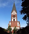 St. Jürgen-Kirche Backsteingotik aus 1907 Flensburg-Jürgensby Schleswig-Holstein Foto Wolfgang Pehlemann IMG 5884.jpg