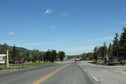 St. Mary Montana Downtown Looking North US89.jpg
