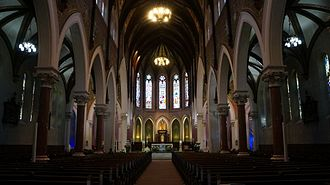 St. Peter's Cathedral Basilica, London, Ontario - Interior