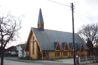 West Horndon - The current St Francis Church in West Horndon, 2003