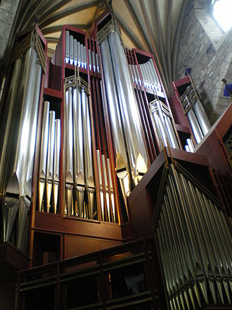 Rieger Orgelbau - The 1992 Rieger organ at St Giles' Cathedral, Edinburgh.