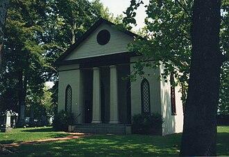 Port Royal, Virginia - St. Peter's Episcopal Church in Port Royal