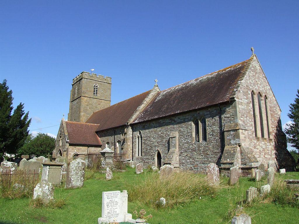 St Andrew's parish church, Awre, Gloucestershire