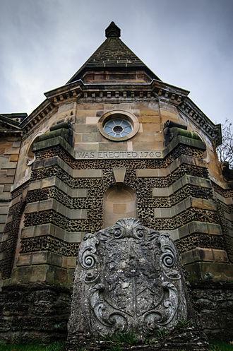 Kirkleatham - The Turner Mausoleum, 1740, by James Gibbs