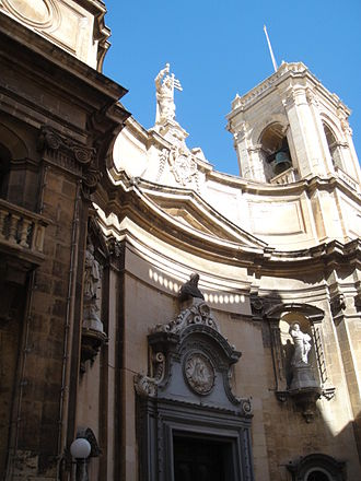 Antonio Cachia - Church of St. Dominic in Valletta, which was designed by Cachia in 1804