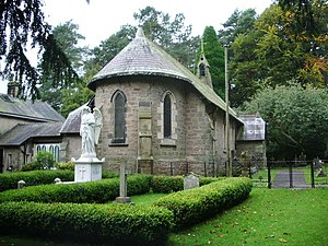 Kettledrum (horse) - The St Hubert's Church building at Dunsop Bridge was financed by Charles Towneley from Kettledrum's Derby winnings.