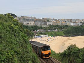 St Ives - FGW 150108 above Porthminster Beach.jpg
