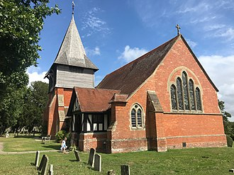 The parish church of St Peter, Stonegate. St Peter, Stonegate.jpg