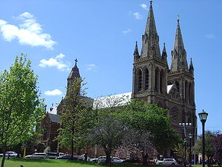 St Peters Cathedral, Adelaide Church in South Australia, Australia