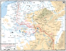 Map Of France During Ww1.Western Front World War I Wikipedia
