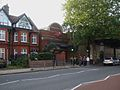 Stamford Brook stn main entrance.JPG